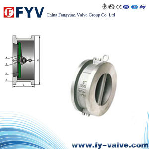 Wafer Type Double Disc Swing Check Valve pictures & photos