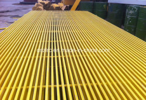 Fiberglass FRP GRP Grille for Inustrial Palnts pictures & photos