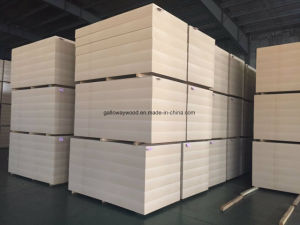 25mm Raw Plain MDF pictures & photos