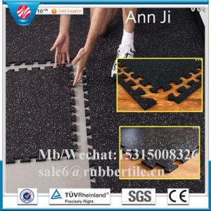 Outdoor Pathway Anti-Slip Rubber Flooring Tiles pictures & photos