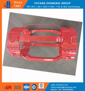 Cheap Hinged Non Weld Bow Centralizer with Screw Collar Clamp pictures & photos