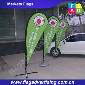 Outdoor Display Beach Banner Teardrop Flag