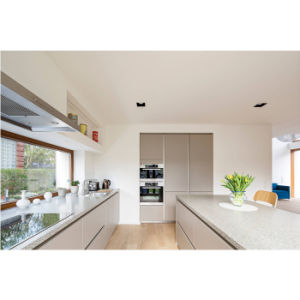 Sicount Kitchen Cabinets Flat Panel Cabinets High Gloss White Lacquer Kitchen Furniture Cheap Unfinished Kitchen Cabinets Wholesale pictures & photos