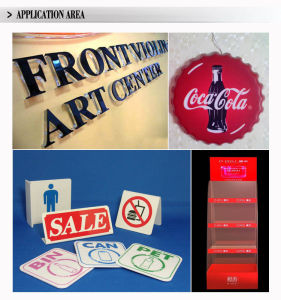Wall Mounted Illuminated Acrylic Outdoor Thermoforming Light Box pictures & photos