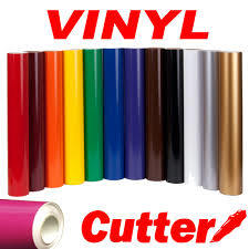 Color Vinyl Roll for Plotter Machine 120g Paper.