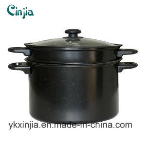 Kitchenware Carbon Steel Non-Stick Pasta Pot& Sauce Pot with Lid pictures & photos