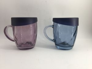 Color Water Beer Glass Cup with Handle Glassware Kb-Hn06719 pictures & photos