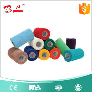 2017 Hot Sales Colorful Medical Sport Self-Adhesive Cohesive Bandage pictures & photos