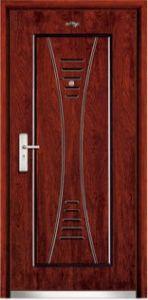 Steel Wooden Door (JC-A026) pictures & photos