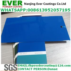 Electrostatic Spray Blue Color Ral5017 Powder Coating pictures & photos