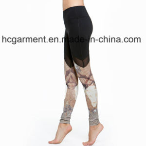 Workout Clothes for Woman, Gym Leggings, Printing Capri Pants pictures & photos