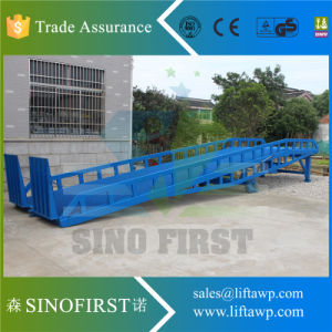 10ton 12ton Mobile Hydraulic Container Load Bridge pictures & photos