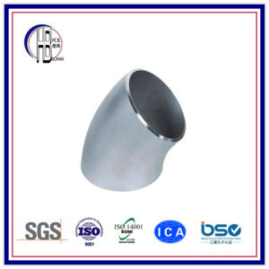 Butt Weld Fitting Long Radius Elbow Stainless Steel 45 Degree with Best Price pictures & photos