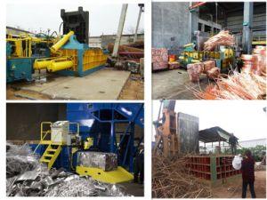 Baler Hydraulic Baler Scrap Metal Baler Recycling Machine Recycling Equipment- (YDF-100A) pictures & photos