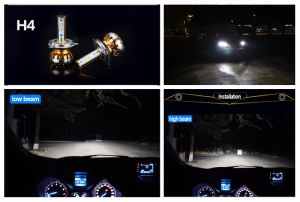 New Model Philips LED Car Headlight 60W 8000lm H1 pictures & photos
