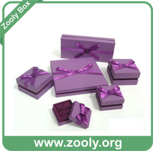 Decorative Paper Jewelry Gift Box / Paper Ring Box / Printed Cardboard Box pictures & photos