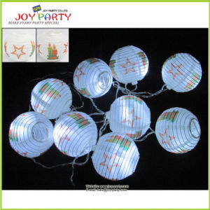 "3"" Paper Lantern String Christmas Light Birthday Party Light Decoration pictures & photos"