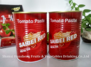 400g 14%-16% Canned Tomato Paste pictures & photos