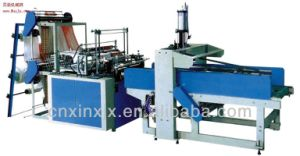 High Speed High Quality Plastic Shopping Bag Making Machine pictures & photos