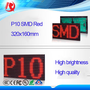 High Brightness Outdoor Advertising Single Color P10 SMD LED Board pictures & photos