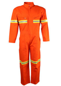 High Vis Yellow Orange Protect Workwear Safety Wear Coverall pictures & photos