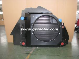 Large Oil Flow Aluminum Coolers for Construction Machinery pictures & photos
