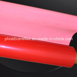 Red Reflective Materials Open Glassbeads Fabrics pictures & photos