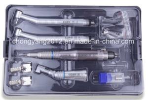 Cheaper Coxo Dental Complete Set Handpiece Kit pictures & photos