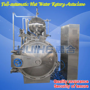 Stainless Steel Steam Canned Food Rotary Retort (Sterilization) pictures & photos