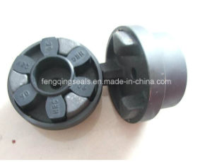 HRC Type Jaw Shaft Plum Flexible Coupling pictures & photos