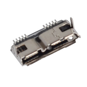SMT B Type Female 10pin Micro USB 3.0 Connector