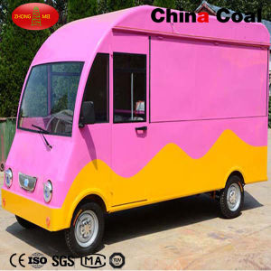 Pink Mobile Catering Food Truck Mobile Food Trailer pictures & photos