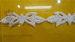 Rhinestone Wedding Beading Belt Crystal Applique for Bridal Sash pictures & photos