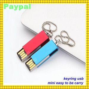 Corporate Beautiful Flash Drive USB Keychain Keyring USB (gc-660) pictures & photos