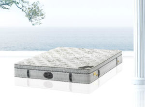 Pillow Top King Size Bed Mattress, Spring Mattress (K82) (SFY-1) pictures & photos