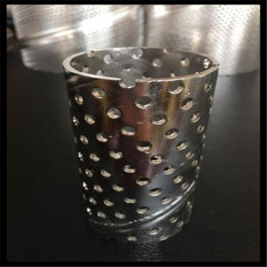 316 Stainless Steel Perforated Filter Tube pictures & photos