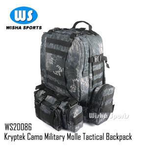 2014 Newest Kryptek Camo 600d Camelpack Tactical Molle Assault Military Backpack