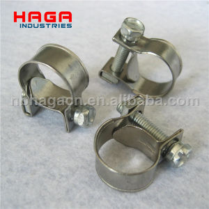 Zinc Plated Steel and Stainless Steel Min Bolt Clamp pictures & photos