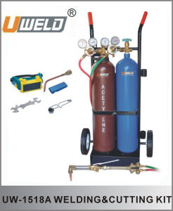 Welding&Cutting Kit with Cylinder Cart (UW-1518-A)