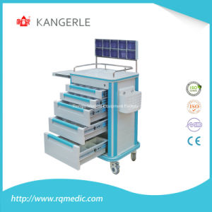 Ce/ISO ABS Anaesthesia Cart/Anaesthesia Trolley/Hospital Cart pictures & photos