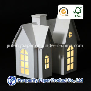 Christmas Paper House with LED Light pictures & photos