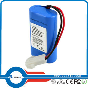 7.4V 2800mAh Li-ion Rechargeable Battery pictures & photos