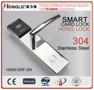 Stainless Steel Smart Hotel Card Lock (HD6012) pictures & photos