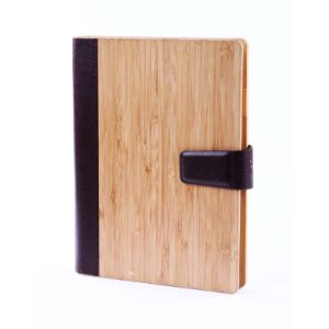 Bamboo Cover Personal Folio Bamboo File Folder Note Book pictures & photos