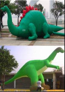 Inflatable Dinosaur pictures & photos