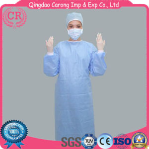 China Non-Woven SMS Medical Disposable Surgical Gown Sterile ...