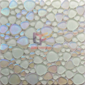 Rainbow Color Heart Shape Glass Crystal Mosaic (CFC586) pictures & photos