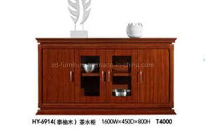 China Manufacturer Office Furniture! Teak Wood Cupboard (HY-6914)