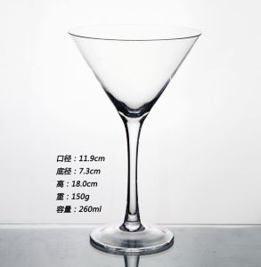 High Quality Handmade Martini Glass pictures & photos