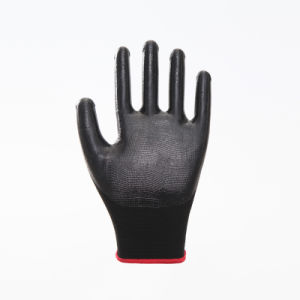 Nitrile Gloves, Labor Protective, Safety Work Gloves (N6002) pictures & photos